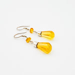 Amber Dangle Earrings, Carolina