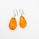 Teardrop Amber Earrings, Greta (More Options)