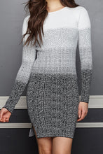 Load image into Gallery viewer, Irene Ombre Sweater Dress