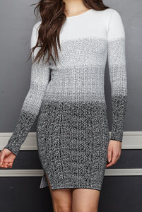 Irene Ombre Sweater Dress