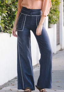 Aylor High Waisted Long Pants