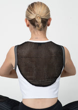 Load image into Gallery viewer, Ava Mesh Back Cropped Top