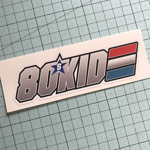 80s Kid Sticker