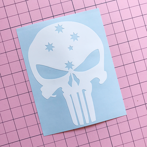 Punisher Oz Decal
