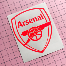 Load image into Gallery viewer, Arsenal Decal -Neon Red