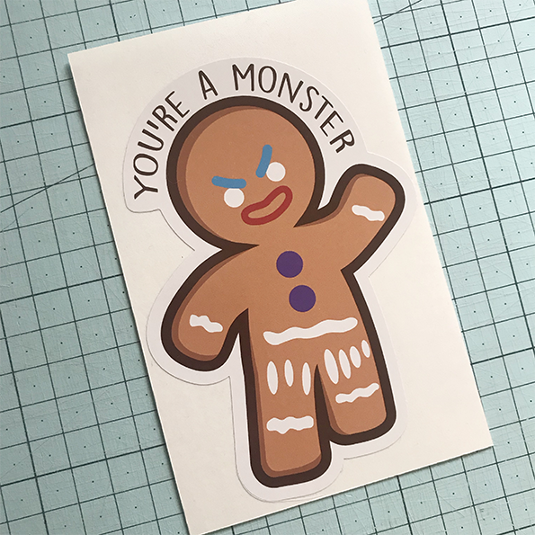 Gingy Sticker