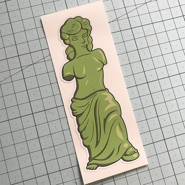 Gummi Venus Sticker