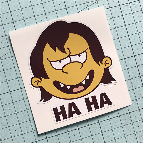 Ha Ha Sticker