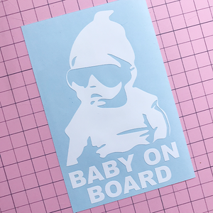 Hangover Baby decal