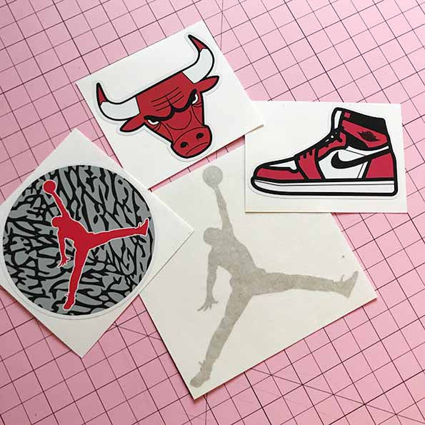 Jordan Fan Pack -Decal & Stickers