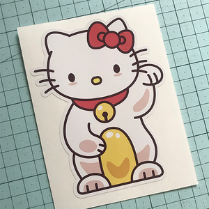 Lucky Hello Kitty Sticker
