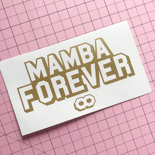 Load image into Gallery viewer, Mamba Forever Decal