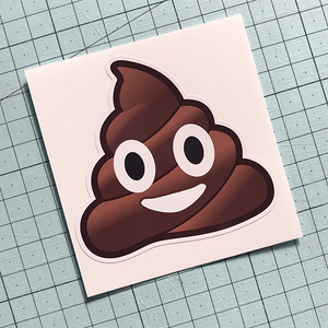 Poo Emoji Sticker