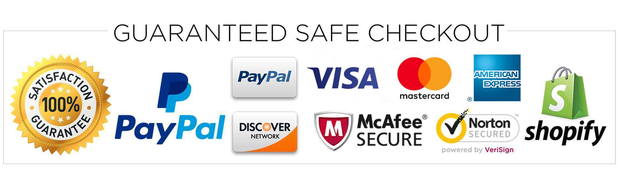 safe secured badge checkout payment