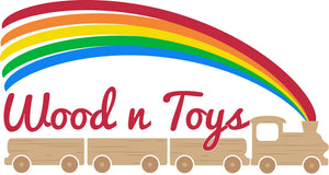 Logo Wood N Toys - Educational wooden toys store - Montessori materials