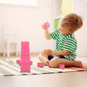 The pink tower - Montessori Sensorial - Wood N Toys