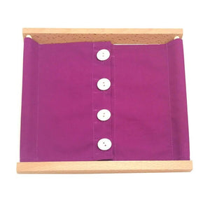 Wooden dressing frame - Montessori material - Wood N Toys