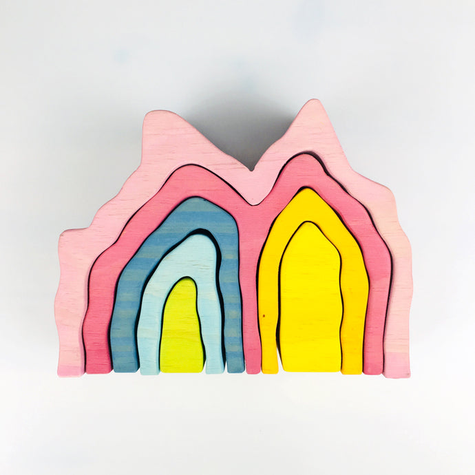 Coral Reef - Rainbow wooden toys - Wood N Toys