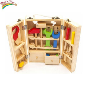 Wooden do it yourself box - Educational toy - Wood N Toys