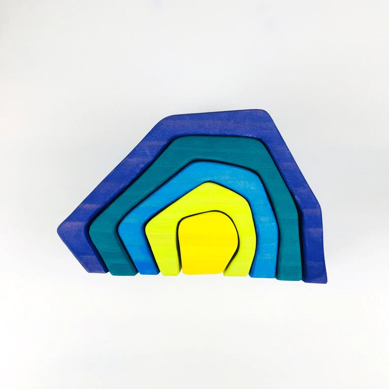 Earth - Rainbow wooden toys - Wood N Toys
