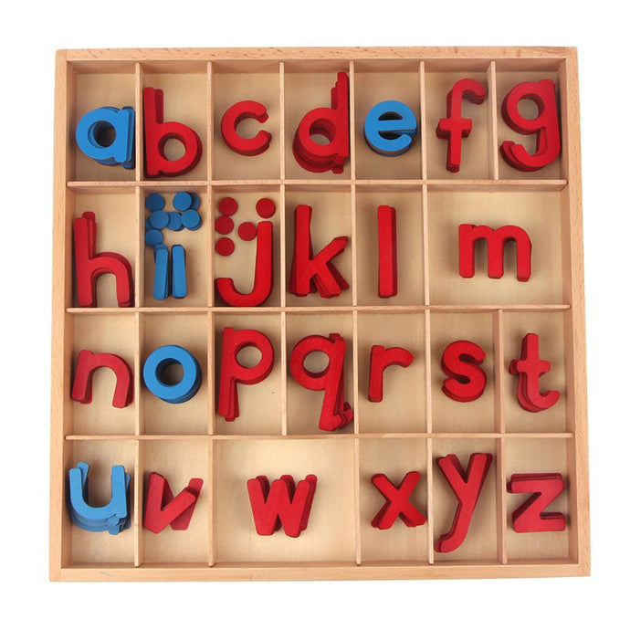 Moveable alphabet - Montessori Language - Wood N Toys
