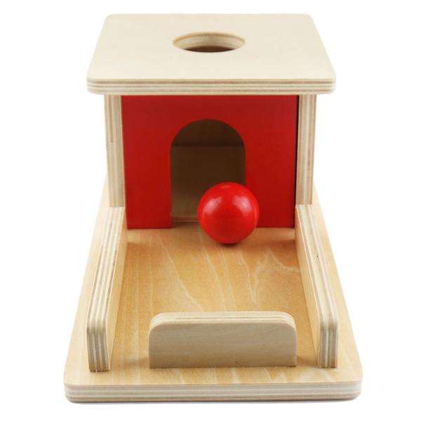 Permanence box with tray - Toddler Montessori - Wood N Toys