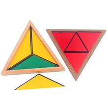 Load image into Gallery viewer, Constructive Triangles - Montessori Sensorial - Wood N Toys
