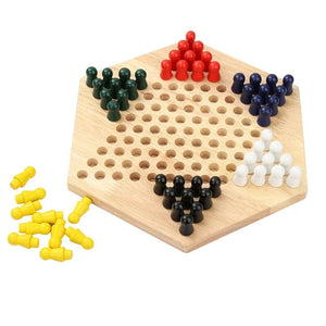 Chinese checkers board game - Wood N Toys