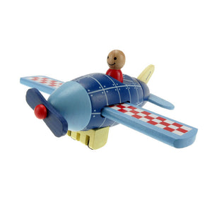 Wooden Magnetic Rocket / Plane / Helicopter - Wood N Toys