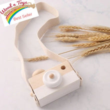 Load image into Gallery viewer, Wooden Camera for Toddler - Wood N Toys