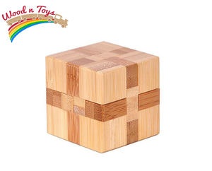 3D Wooden brain set puzzle - Wood N Toys