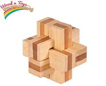 Load image into Gallery viewer, 3D Wooden brain set puzzle - Wood N Toys