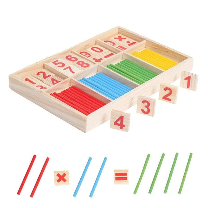 The math box - Educational material - Wood N Toys