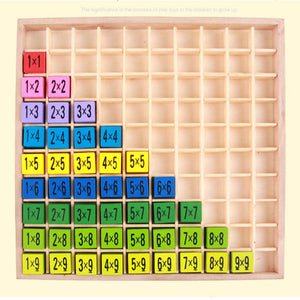 Multiplication table - Educational toy - Wood N Toys