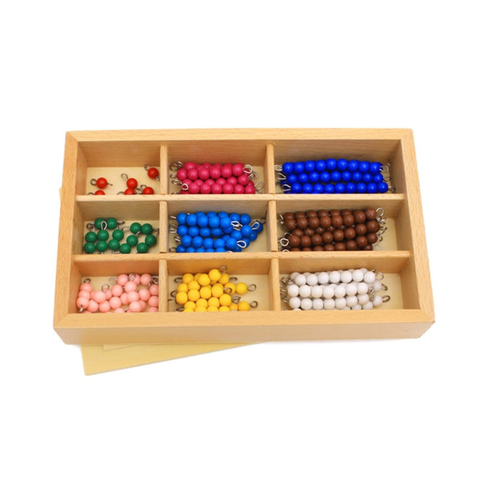 Multiplication beads box - Montessori material - Wood N Toys