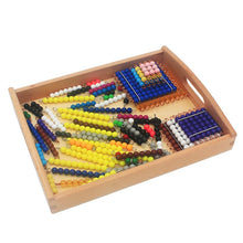 Load image into Gallery viewer, Wooden tray - Presentation Material - Wood N Toys