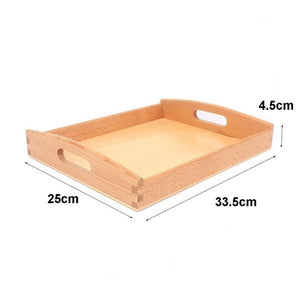 Wooden tray - Presentation Material - Wood N Toys