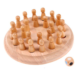 Wooden Color Memory - Board Game - Wood N Toys