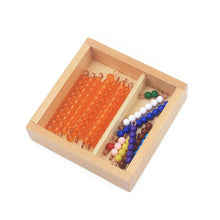 Load image into Gallery viewer, Seguin board & beads bars - Montessori material - Wood N Toys