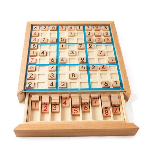 Sudoku - wooden board game - Wood N Toys