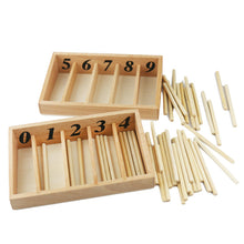 Load image into Gallery viewer, Spindle box - Montessori Mathematics - Wood N Toys