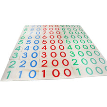 Load image into Gallery viewer, Number cards / Decimal System - Montessori mathematics - Wood N Toys