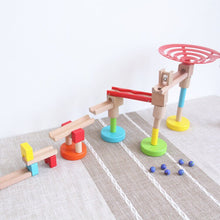 Load image into Gallery viewer, Wooden Marble run - Educational toy - Wood N Toys