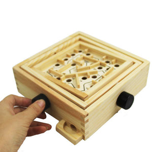 Labyrinth - Wooden board game - Wood N Toys
