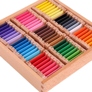 Colour wooden tablets - Sensorial Montessori - Wood N Toys