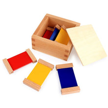 Load image into Gallery viewer, Colour wooden tablets - Sensorial Montessori - Wood N Toys