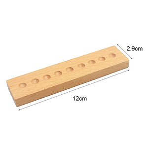 Decimal System with beads - Montessori material - Wood N Toys