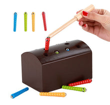 Load image into Gallery viewer, Wooden insect catcher - Educational toy - Wood N Toys