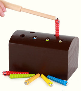 Wooden insect catcher - Educational toy - Wood N Toys