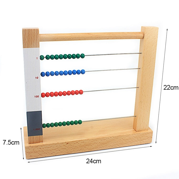 Abacus counter - Montessori material - Wood N Toys